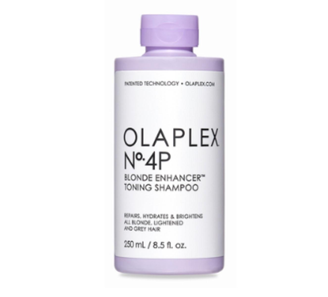 Olaplex 4P Blonde Enhancer Toning Shampoo